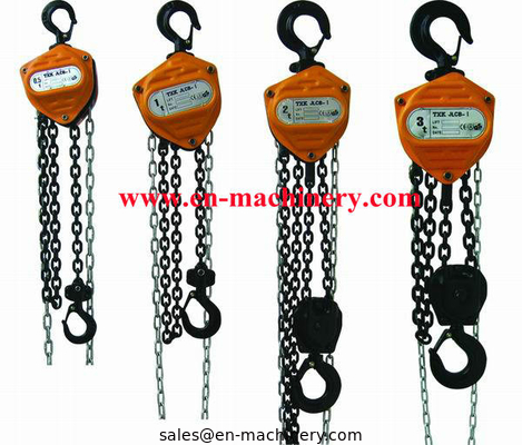 China Chain Pulley block chain block Mini Machine 3m 1 Ton Chain Block distributor